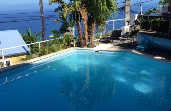 En vente une sublime villa avec piscine de type F5 à Saint Leu, Réunion par Ofim immobilier