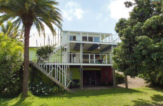 ofim-Réunion-Vue-mer-T5-villa-Vente-Saint-Leu-Piton-jardin
